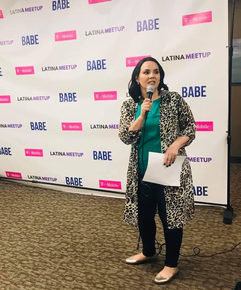 Danay Speaking LatinaMeetup March 2020